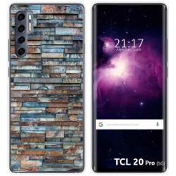 Funda Gel Tpu para TCL 20 Pro 5G diseño Ladrillo 05 Dibujos
