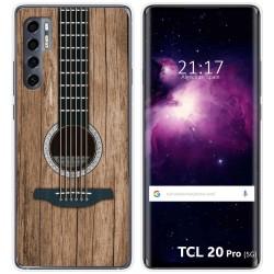 Funda Gel Tpu para TCL 20 Pro 5G diseño Madera 11 Dibujos