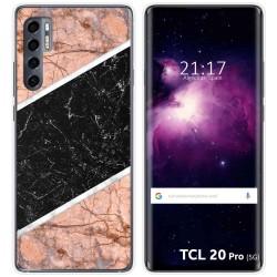 Funda Gel Tpu para TCL 20 Pro 5G diseño Mármol 07 Dibujos