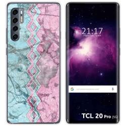 Funda Gel Tpu para TCL 20 Pro 5G diseño Mármol 08 Dibujos