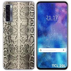 Funda Gel Tpu para TCL 20L / 20L+ diseño Animal 01 Dibujos