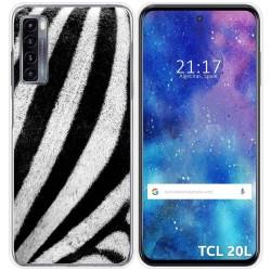 Funda Gel Tpu para TCL 20L / 20L+ diseño Animal 02 Dibujos
