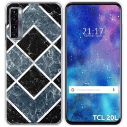 Funda Gel Tpu para TCL 20L / 20L+ diseño Mármol 06 Dibujos