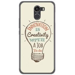 Funda Gel Tpu para Wileyfox Swift 2 Diseño Creativity Dibujos