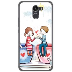 Funda Gel Tpu para Wileyfox Swift 2 Diseño Cafe Dibujos