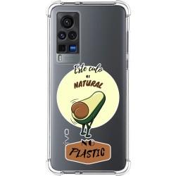 Funda Silicona Antigolpes para Vivo X60 Pro 5G diseño Culo Natural Dibujos