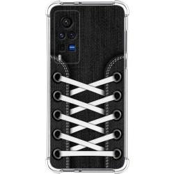 Funda Silicona Antigolpes para Vivo X60 Pro 5G diseño Zapatillas 02 Dibujos
