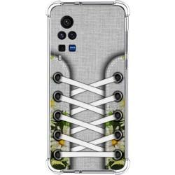 Funda Silicona Antigolpes para Vivo X60 Pro 5G diseño Zapatillas 08 Dibujos