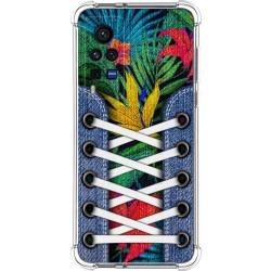 Funda Silicona Antigolpes para Vivo X60 Pro 5G diseño Zapatillas 12 Dibujos