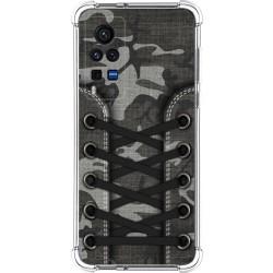 Funda Silicona Antigolpes para Vivo X60 Pro 5G diseño Zapatillas 15 Dibujos