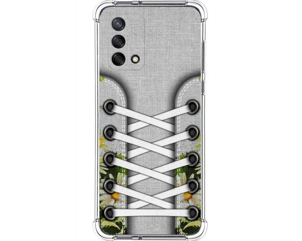 Funda Silicona Antigolpes para Oppo A74 4G diseño Zapatillas 08 Dibujos