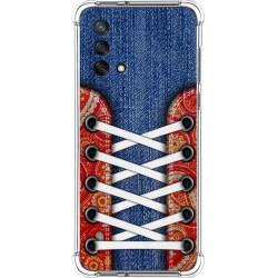 Funda Silicona Antigolpes para Oppo A74 4G diseño Zapatillas 11 Dibujos