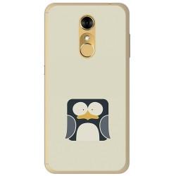 Funda Gel Tpu para Zte Blade A910 Diseño Pingüino Dibujos