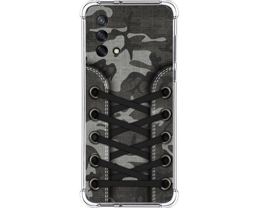 Funda Silicona Antigolpes para Oppo A74 4G diseño Zapatillas 15 Dibujos