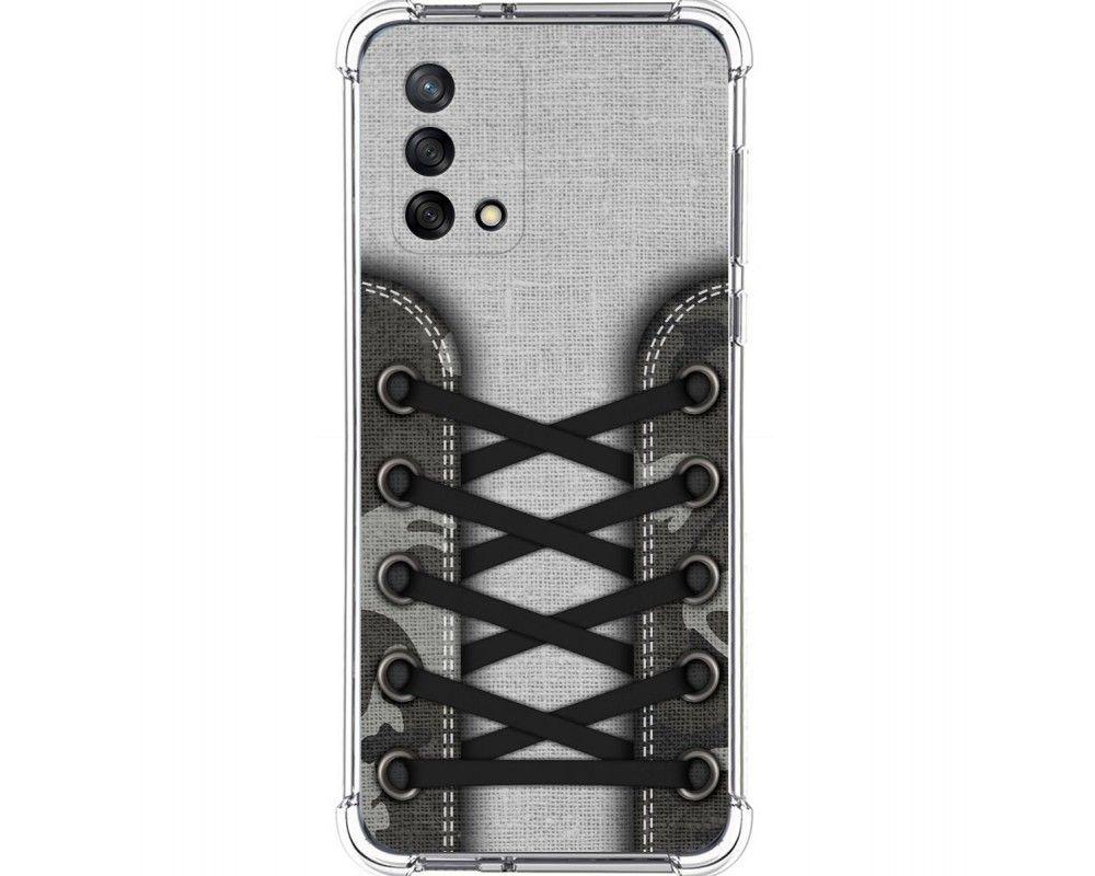 Funda Silicona Antigolpes para Oppo A74 4G diseño Zapatillas 16 Dibujos