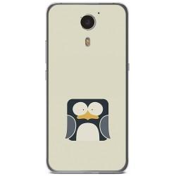 Funda Gel Tpu para Umi Plus Diseño Pingüino Dibujos