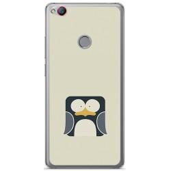 Funda Gel Tpu para Zte Nubia Z11 Diseño Pingüino Dibujos