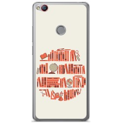 Funda Gel Tpu para Zte Nubia Z11 Diseño Mundo Libro Dibujos