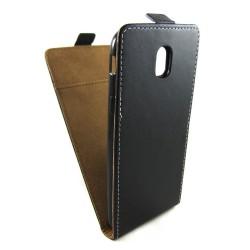 Funda Piel Premium Negra Ultra-Slim para Samsung Galaxy J3 (2017)