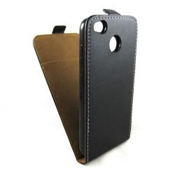 Funda Piel Premium Negra Ultra-Slim para Xiaomi Redmi 4X