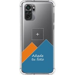 Personaliza tu Funda Silicona AntiGolpes Transparente con tu Fotografía para Xiaomi Redmi Note 10 5G / POCO M3 PRO 5G Dibujo