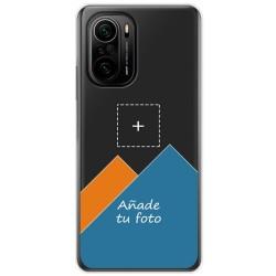 Personaliza tu Funda Doble Pc + Tpu 360 con tu Fotografia para Xiaomi POCO F3 5G / Mi 11i 5G Dibujo Personalizada