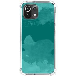 Funda Antigolpes para Xiaomi Mi 11 Lite 4G / 5G diseño Acuarela 06 Dibujos