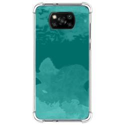 Funda Antigolpes para Xiaomi POCO X3 NFC / X3 Pro diseño Acuarela 06 Dibujos