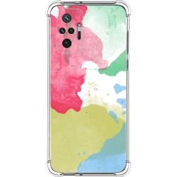 Funda Antigolpes para Xiaomi Redmi Note 10 Pro diseño Acuarela 02 Dibujos