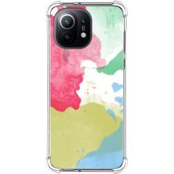 Funda Antigolpes para Xiaomi Mi 11 5G diseño Acuarela 02 Dibujos
