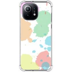 Funda Antigolpes para Xiaomi Mi 11 5G diseño Acuarela 05 Dibujos