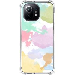 Funda Antigolpes para Xiaomi Mi 11 5G diseño Acuarela 11 Dibujos