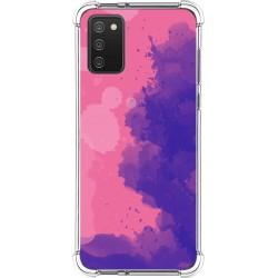 Funda Silicona Antigolpes para Samsung Galaxy A02s diseño Acuarela 07 Dibujos