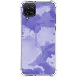 Funda Silicona Antigolpes para Samsung Galaxy A12 diseño Acuarela 01 Dibujos