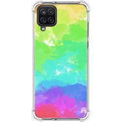Funda Silicona Antigolpes para Samsung Galaxy A12 diseño Acuarela 03 Dibujos