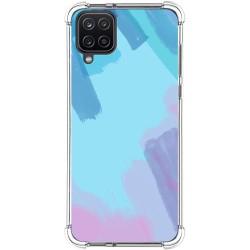 Funda Silicona Antigolpes para Samsung Galaxy A12 diseño Acuarela 10 Dibujos