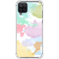 Funda Silicona Antigolpes para Samsung Galaxy A12 diseño Acuarela 11 Dibujos