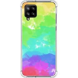Funda Silicona Antigolpes para Samsung Galaxy A42 5G diseño Acuarela 03 Dibujos