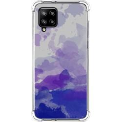 Funda Silicona Antigolpes para Samsung Galaxy A42 5G diseño Acuarela 09 Dibujos