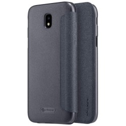Funda Flip Negra Nillkin Modelo Sparkle para Samsung Galaxy J7 (2017)