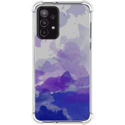 Funda Silicona Antigolpes para Samsung Galaxy A52 / A52 5G diseño Acuarela 09 Dibujos