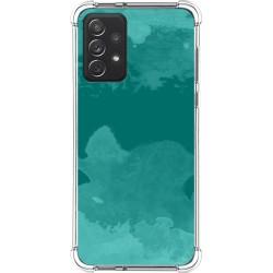 Funda Silicona Antigolpes para Samsung Galaxy A72 diseño Acuarela 06 Dibujos