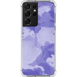 Funda Silicona Antigolpes para Samsung Galaxy S21 Ultra 5G diseño Acuarela 01 Dibujos