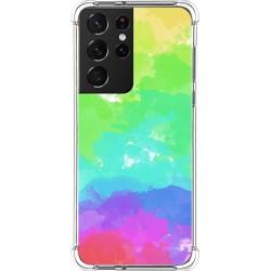 Funda Silicona Antigolpes para Samsung Galaxy S21 Ultra 5G diseño Acuarela 03 Dibujos