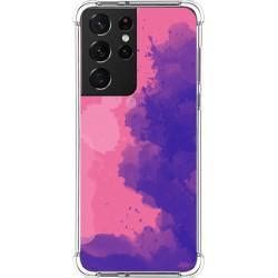Funda Silicona Antigolpes para Samsung Galaxy S21 Ultra 5G diseño Acuarela 07 Dibujos