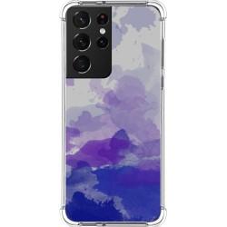 Funda Silicona Antigolpes para Samsung Galaxy S21 Ultra 5G diseño Acuarela 09 Dibujos