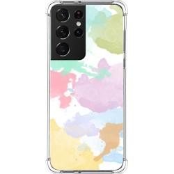 Funda Silicona Antigolpes para Samsung Galaxy S21 Ultra 5G diseño Acuarela 11 Dibujos