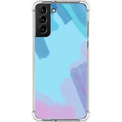 Funda Silicona Antigolpes para Samsung Galaxy S21+ Plus 5G diseño Acuarela 10 Dibujos