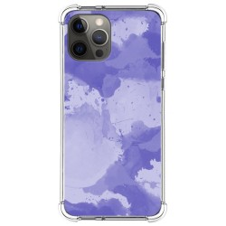 Funda Silicona Antigolpes para Iphone 12 Pro Max (6.7) diseño Acuarela 01 Dibujos
