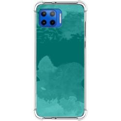 Funda Silicona Antigolpes para Motorola Moto G 5G Plus diseño Acuarela 06 Dibujos